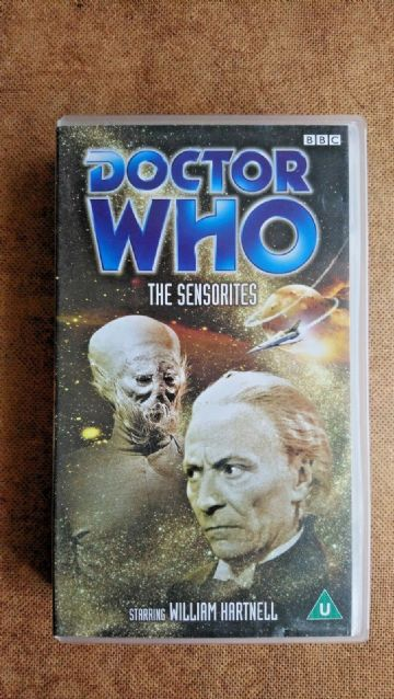 Doctor Who The Sensorites - (VHS 2000) -  William Hartnell